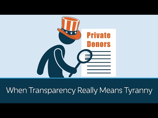 When Transparency Really Means Tyranny