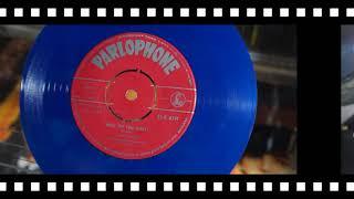 "Jonnie's Jukebox Plays: What Do You Want? - Adam Faith 1959 Blue Vinyl 7"" Record"