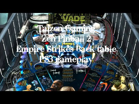 Zen Pinball 2 - Star Wars Episode V: Empire Strikes Back table - PS3 Gameplay (HD)