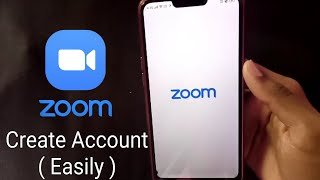 How To Create Zoom Account in Mobile || Create Zoom Account On Phone || Zoom Account Sign Up