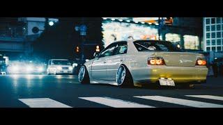 Tokyo Nights. (180sx, R32, Chaser & Laurel) | 4K