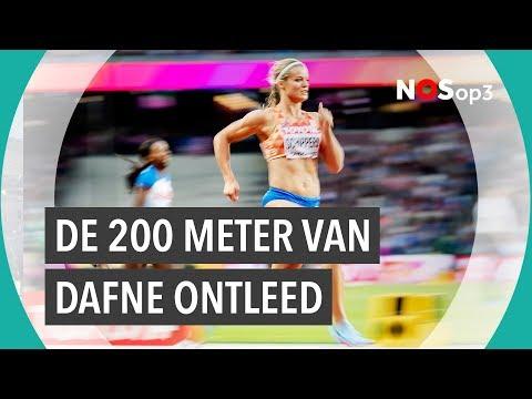 De 200 meter van Dafne Schippers ontleed | NOS op 3