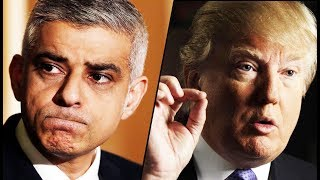 Trump Decides To Berate London Mayor On Twitter As City Struggles With Fear & Police Presence