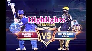 KKR vs RR 2018 IPL highlights (Exception)