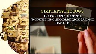 видео Психология память