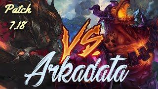 ArKaDaTa ★Best Yasuo EUW★ vs Nasus  patch 7 18