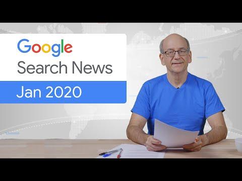 تحديث جوجل ٢٠-١-٢٠٢٠