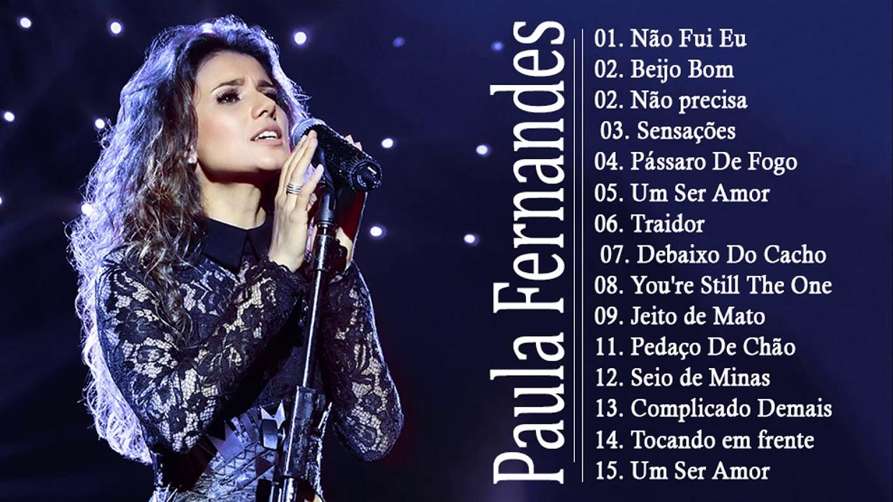 Paula fernandes Greatest Hits - Paula fernandes as