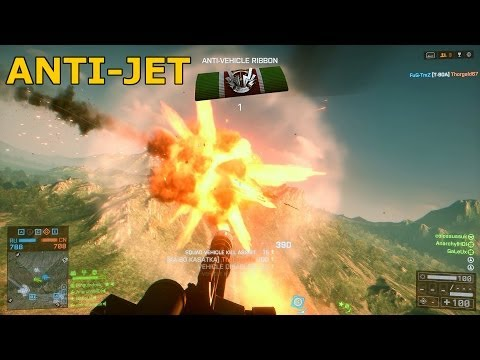 BF4: Nice Transport Chopper Run - Jet Take Downs (Gameplay/LiveComm)