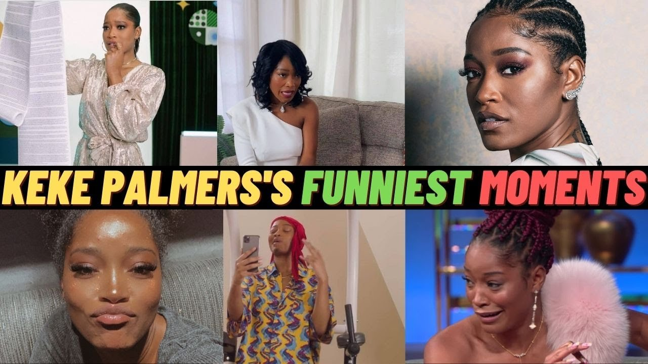 Download Keke Palmer funniests moments on her tik tok and Instagram so hilarious