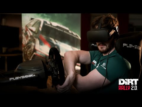 Dirt Rally 2.0 VR Motion Auto Simulator Valve Index Full Kit Game play #3
