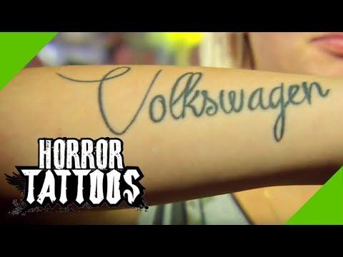Volkswagen Tattoo gegen Eifersucht: Wie ist das passiert? | Augsburg (2/4) | Horror Tattoos | sixx