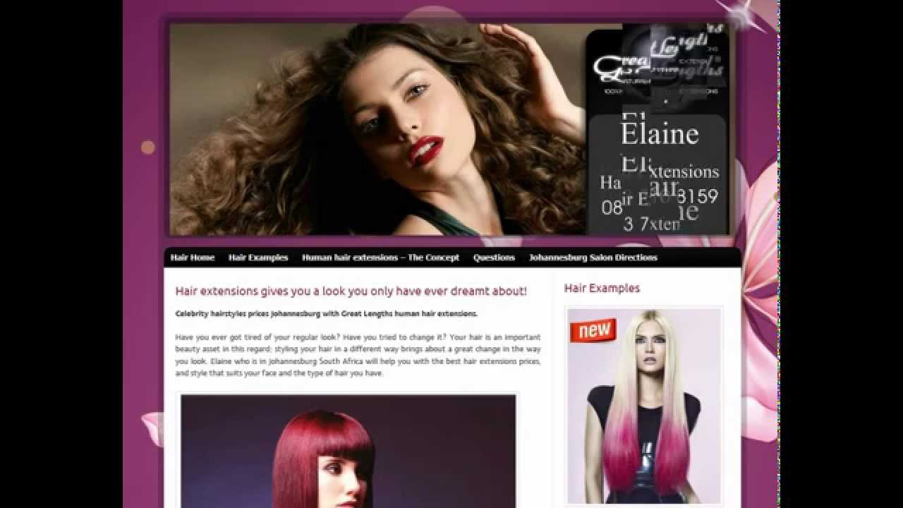 Hair Extensions Sandton Elaine Youtube