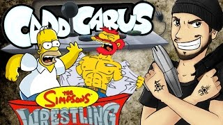 The Simpsons Wrestling - Caddicarus