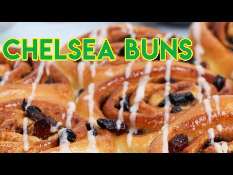 How to Make Chelsea Buns. The real Chelsea Bun Recipe | Cookery school