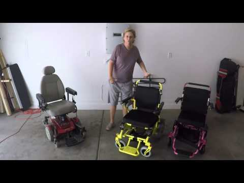 The Eagle Heavy Duty Power Folding Wheelchair Review Doovi