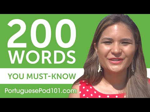 200 Words Every Portuguese Beginner Must-Know