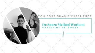De Souza Method Whole Body Workout with Christine De Souza