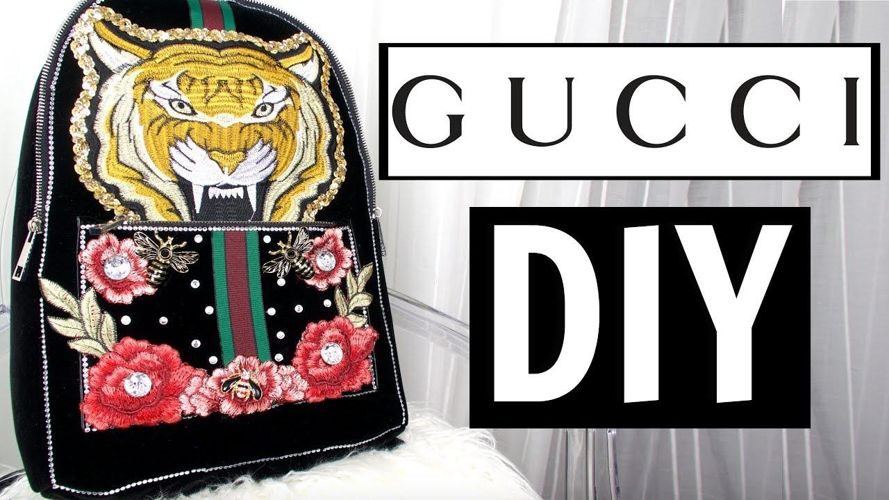 7e0dce0c518e DIY Designer Bag | DIY Designer Inspired Bag - YouTube
