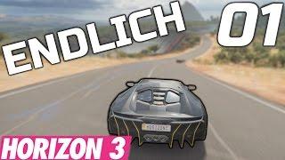 MEIN ERSTES MAL... Forza Horizon 3 #01 PC Gameplay Ultra!