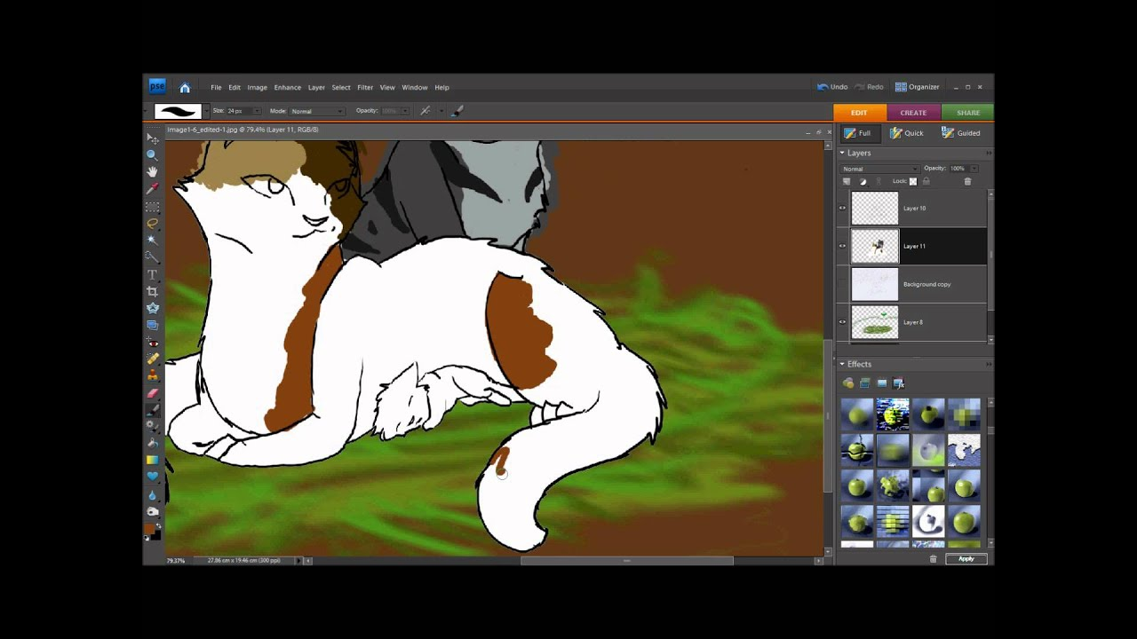 Warrior Cats Base Ms Paint