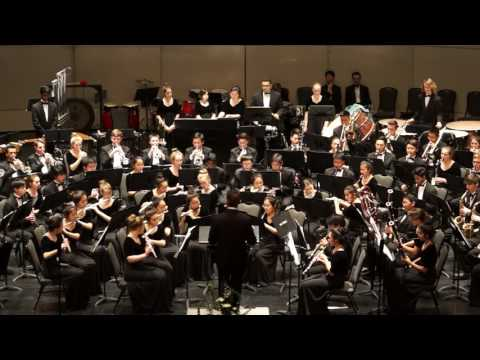 Dance of the Jesters, Tchaikovsky / Cramer - Troy Symphonic Band, 2/23/17
