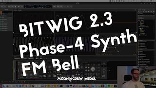 Bitwig - Phase 4 tutorial - Bell synth sound design