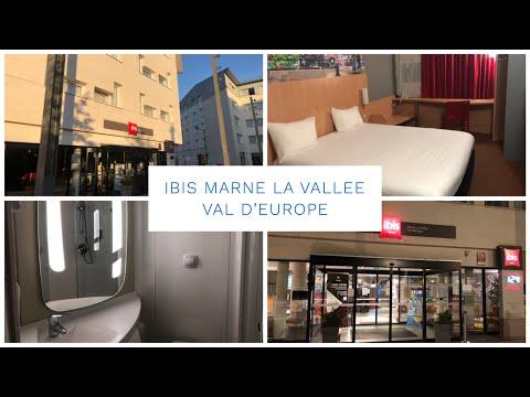 Ibis Marne La Vallee - Val D'Europe - Room Tour - Disneyland Paris (Budget Hotel)