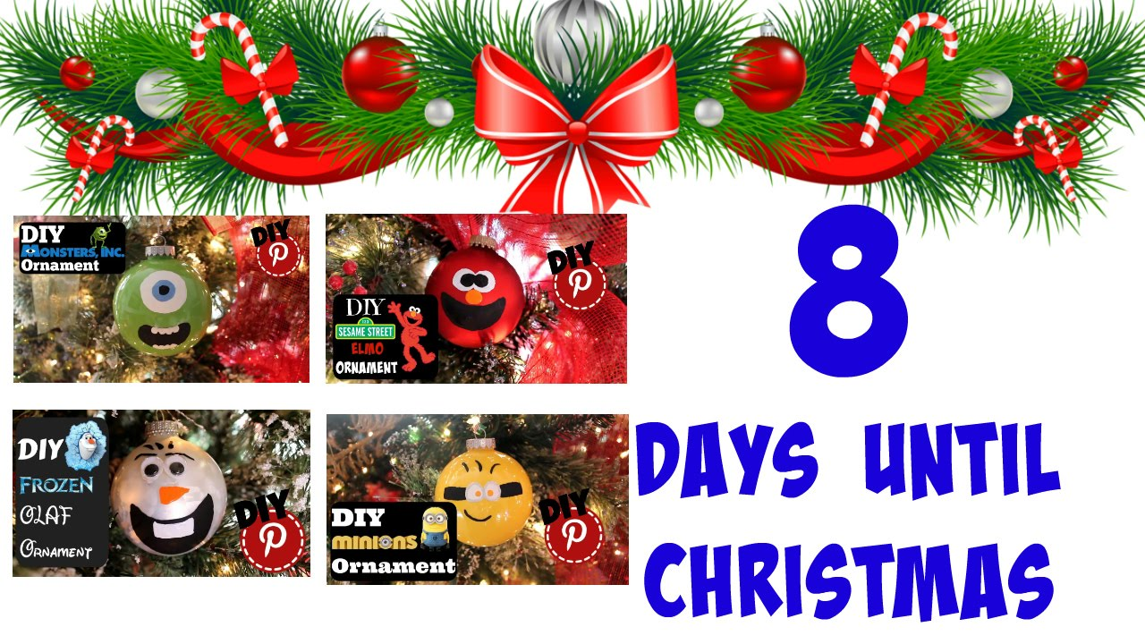 4 Character Ornaments - Minions - Elmo - Olaf - Monsters Inc - YouTube