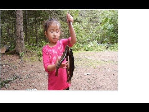 Delilah Up Northern Minnesota Exposure Adventure Catch Cook and Eat