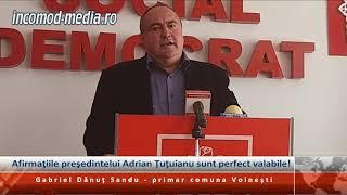 Afirmaţiile preşedintelui Adrian Ţuţuianu sunt perfect valabile!