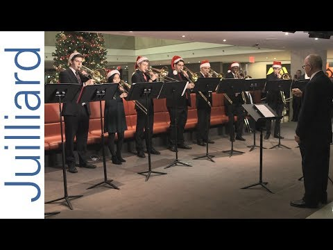 We Wish You a Merry Christmas | Juilliard Trombone Choir 2017