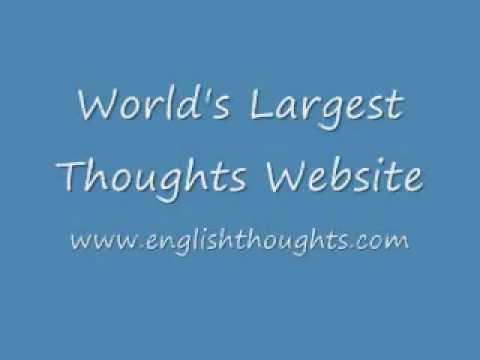 English Thoughts English Suvichar English Sms English Though