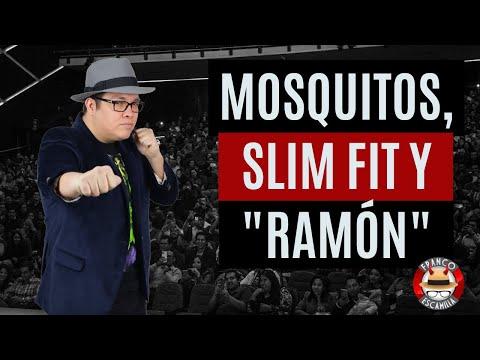 Franco Escamilla.- Mosquitos, Slim Fit y  RAMÓN