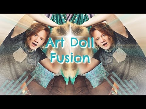 Fusion Art Doll Challenge || Art Doll Tutorial