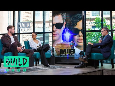 "Chris Hemsworth & Tessa Thompson Talk About Their Movie, ""Men in Black: International"""