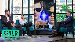 "Chris Hemsworth & Tessa Thompson Talk About Their Movie, ""Men in Black: International"""