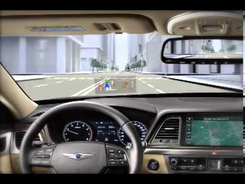 Hyundai Genesis Head Up Display Youtube
