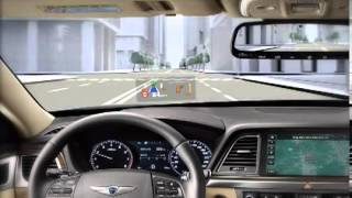 Hyundai Genesis Head Up Display