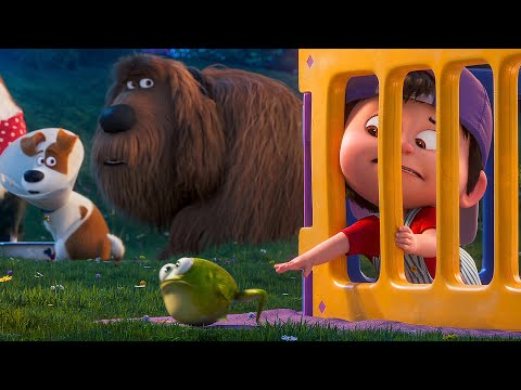 Parenting Advice for Max Scene – THE SECRET LIFE OF PETS 2 (2019) Movie Clip
