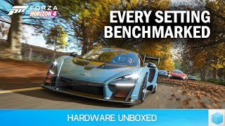 Forza Horizon 4 Graphics Settings Benchmark & Optimization Guide