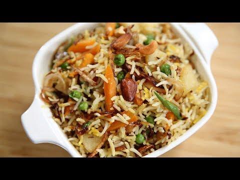 How To Make Navratan Pulav   Navratan Pulao Recipe   Indian Rice Recipe    Recipe by Ruchi Bharani