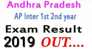 Andhra pradesh intermediate  2019 results are out