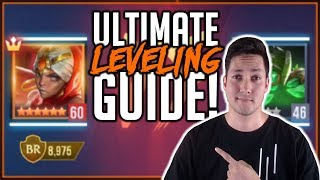 ULTIMATE GUIDE: FASTEST WAY TO LEVEL CHAMPIONS | Dungeon Hunter Champions