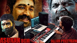Asuran - BGM | Cover | AllanPreetham | | Dhanush | Vetri Maaran | G. V. Prakash Kumar