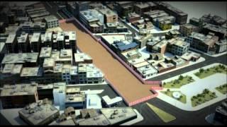 Línea 2  del Metro de Lima - Animación 3D