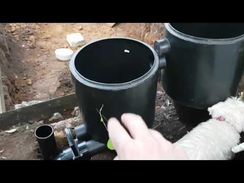 Pond Building- Bottom Drain In-Pt3
