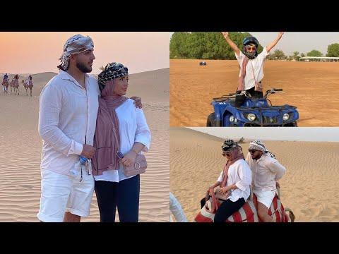 HONEYMOON: VLOG 2 | DUBAI | CAMEL RIDING | QUAD-BIKING | SAFARI DESERT