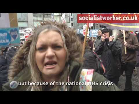 NHS in crisis—fix it now demonstration