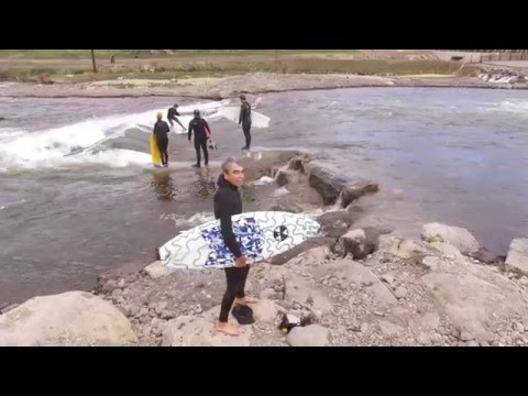 Surfing Bend Oregon with Gerry Lopez